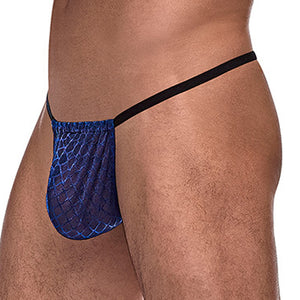Male Power 450264 Diamond Mesh Posing Strap G-String