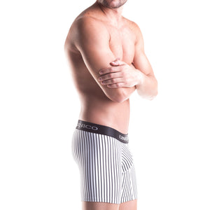 Mundo Unico 14000902 Colombian Stripes Microfiber Mid Boxers Briefs