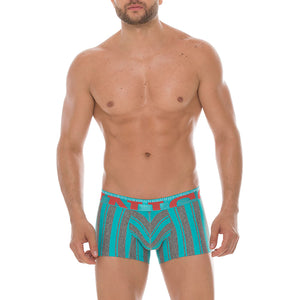 Mundo Unico 17200823 Colombian Stripes Microfiber Short Boxers Briefs
