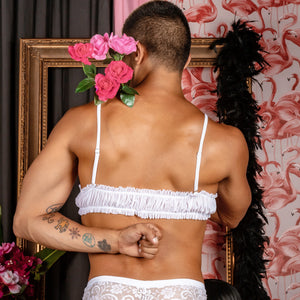Secret Male SMA014 Delphinium Bra