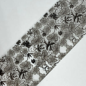 Black & White Flower Foil Box