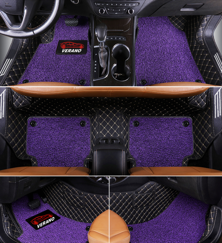 Car custom floor mat carpet