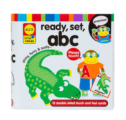 ALEX Toys Early Learning Ready - ABC識字閃卡 (Flash Card)