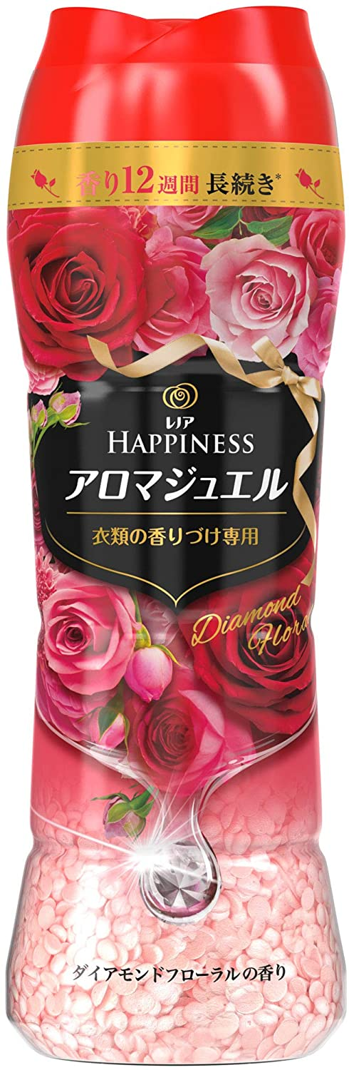 P&G Lenor Happiness 柔順芳香珠 520mL - 鑽石玫瑰香(紅)