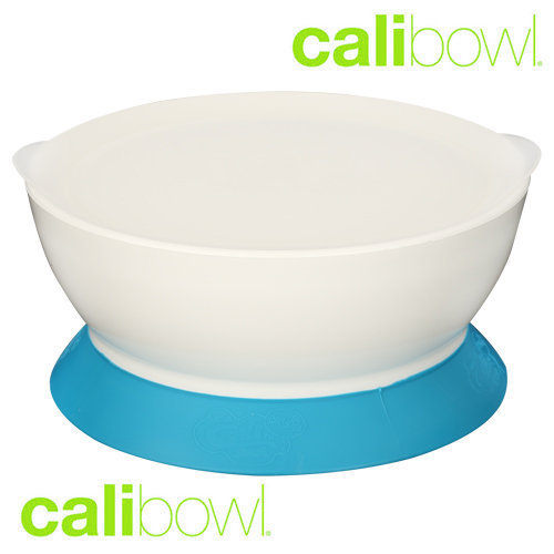 Calibowl 12 Ounce Toddler Bowl - Blue