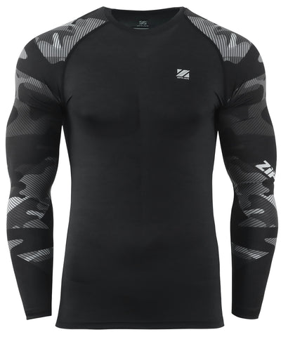camo pattern compression tight gear