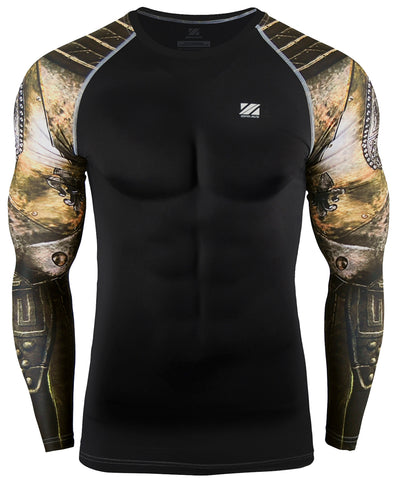 knight armor compression rashguard