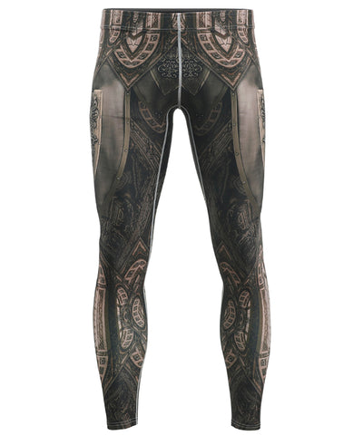 knight compression tight leggings pants for men