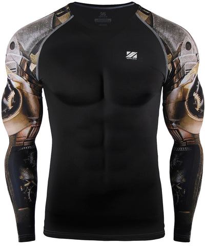 knight armor compression tight rashguard