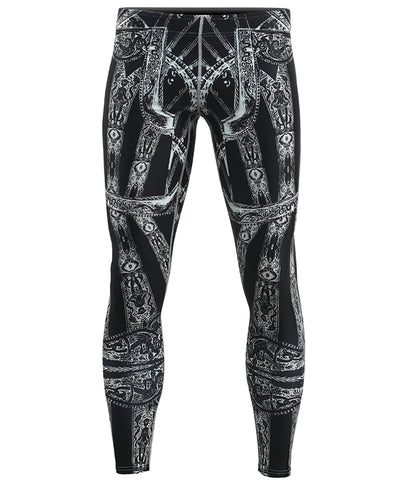 knight armor design gymwear tights