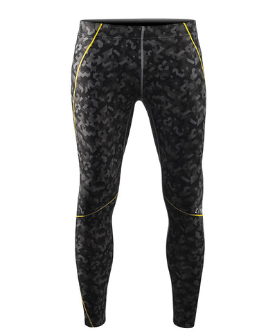 yellow point workout compression running leggings tights