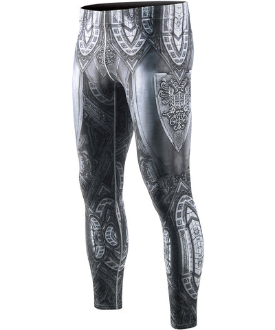 knight armor graphics design leggings