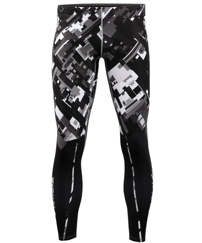 black&white compression tights