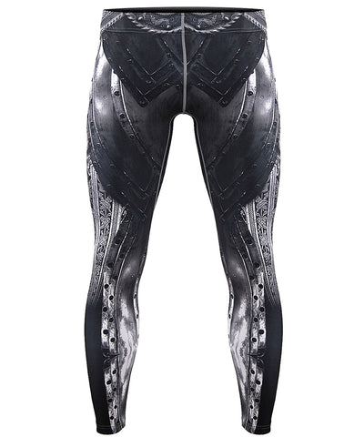 unique knight armor compression leggins