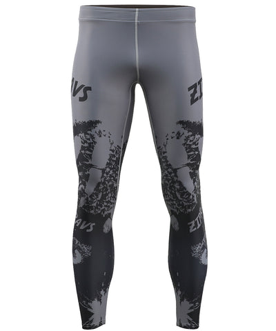 gray dry cool sports legging tights