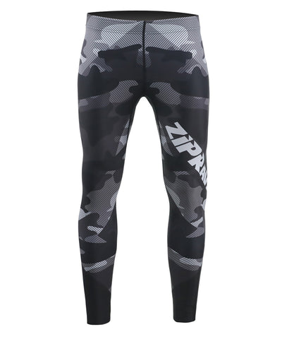 camo pattern design compression leggings