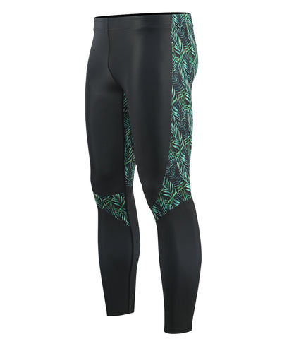green compression tights