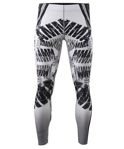 white compression pants cool dry tights
