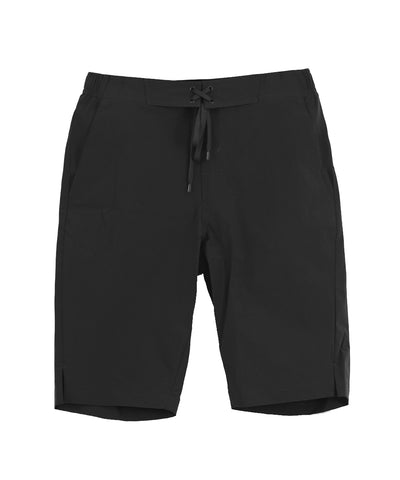 black sports training short pants