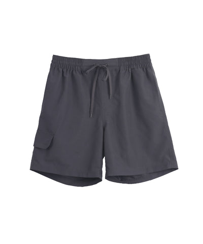 men's summer short pants charcoal color