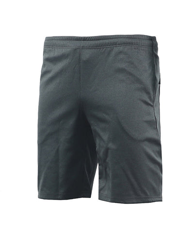charcoal athletic gymwear training shorts
