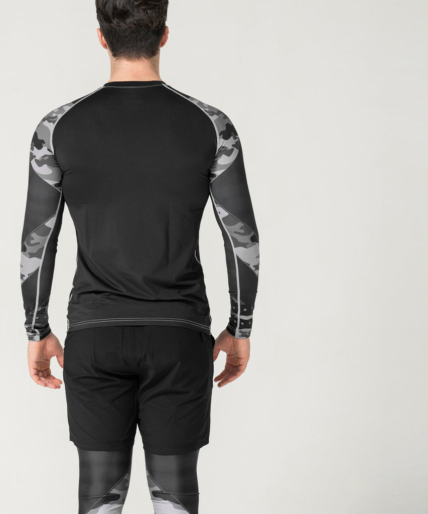 camouflage compression gear long sleeves