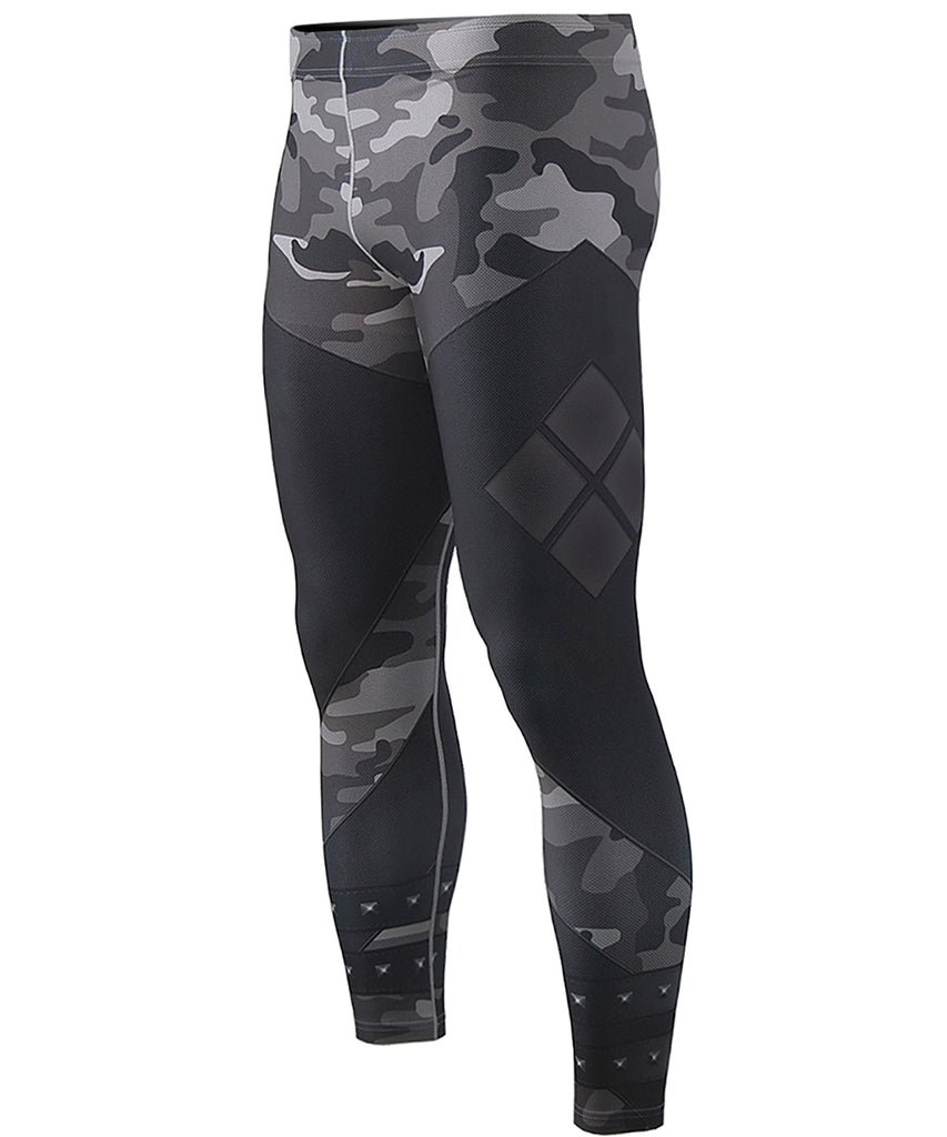 Black Camo Compression Leggings