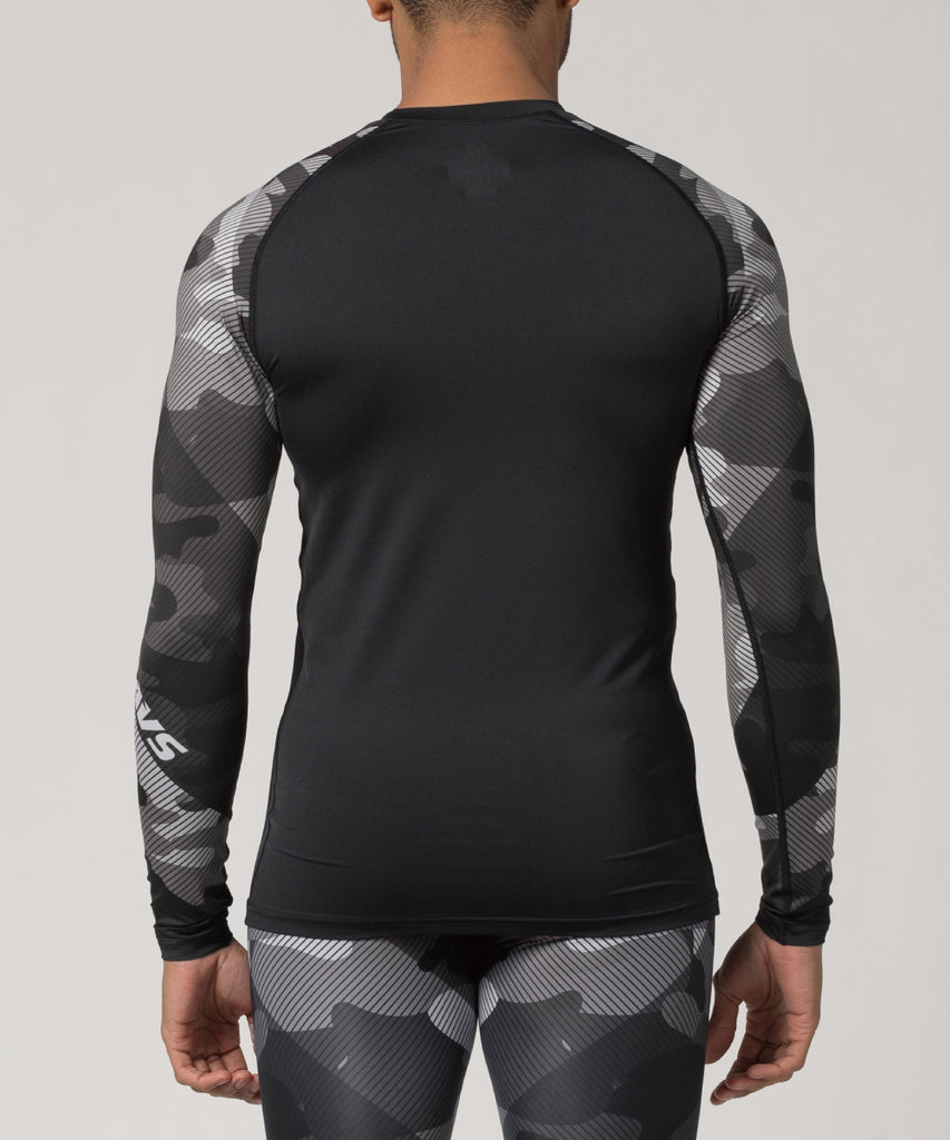 camo compression shirt workout