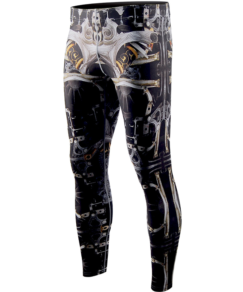 Machine design compression tights bjj leggings