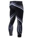 mens compression tighs camo pattern white line