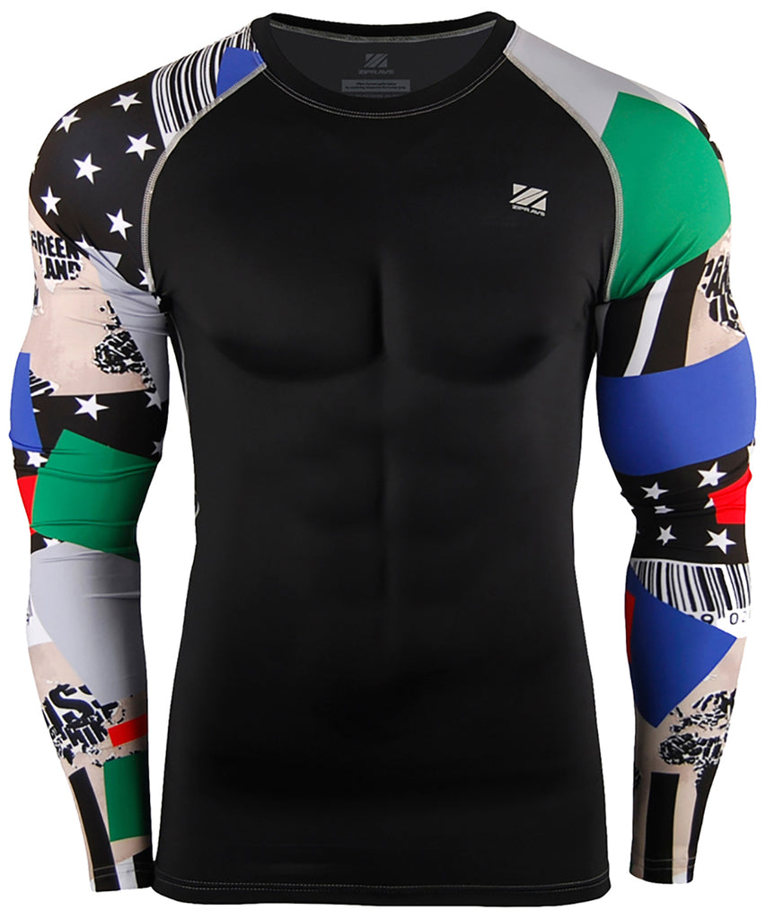 running compression t shirt