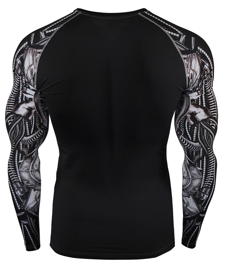 machine design compression shirt