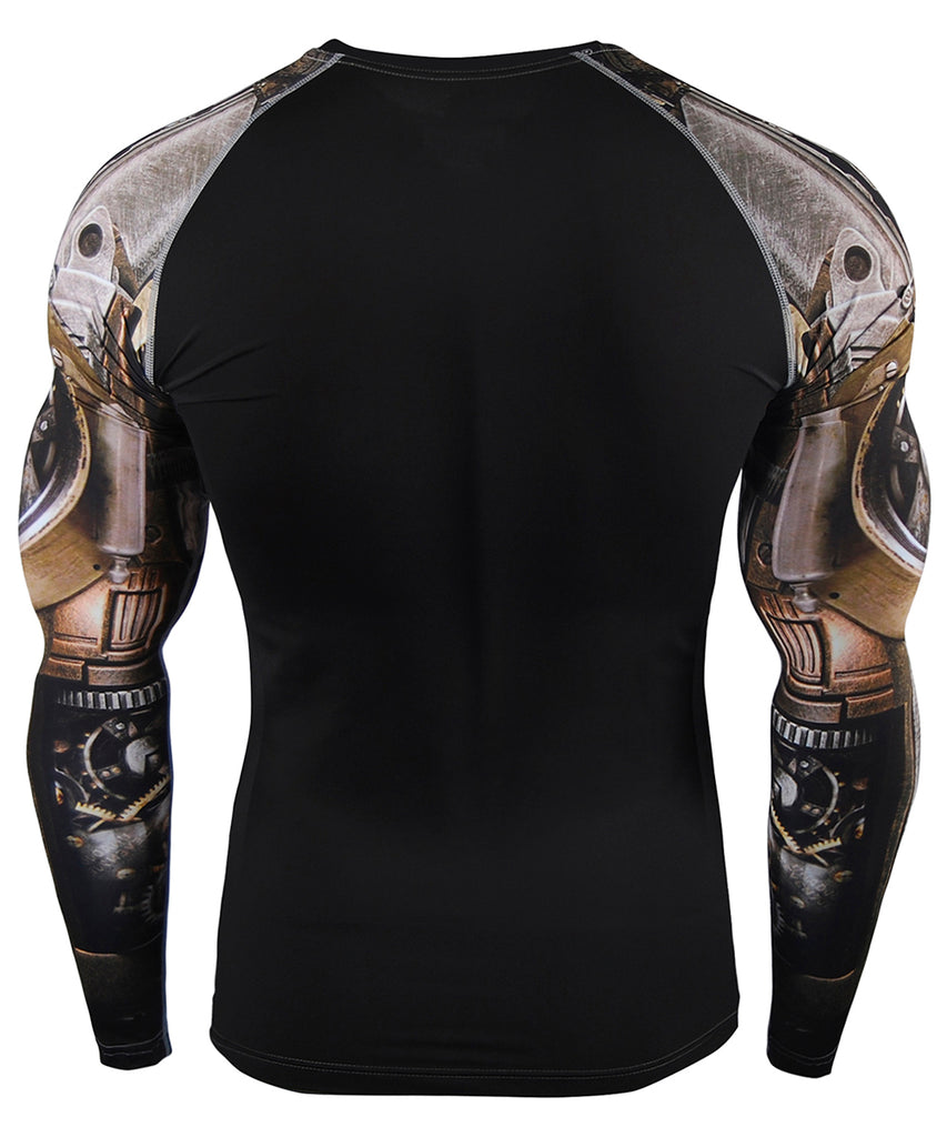 machine compression long sleeve