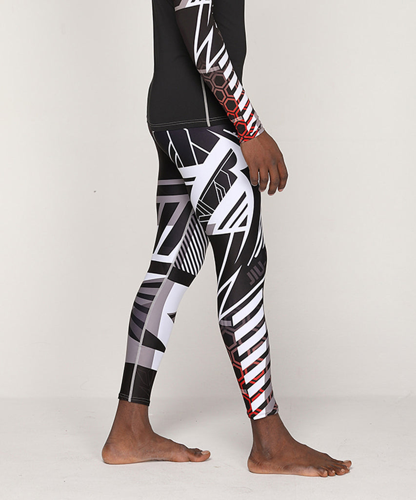 Unique compression tight leggings
