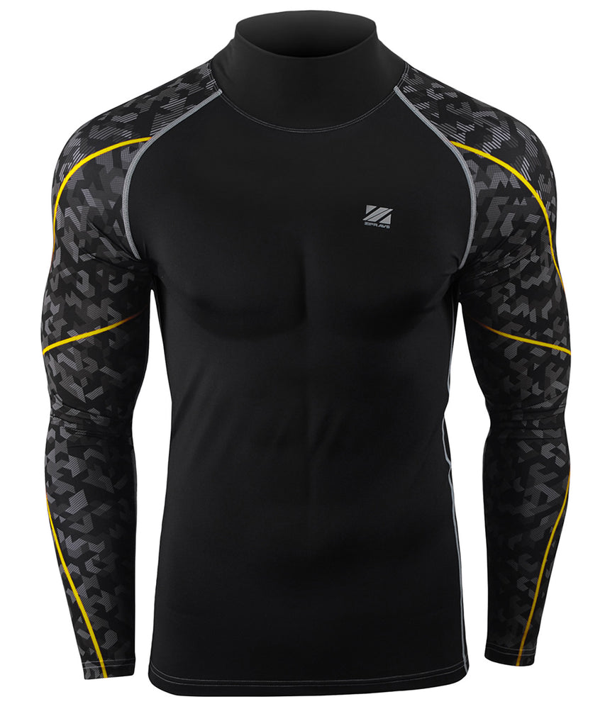 COMPRESSION BASELAYER MOCK LONG SLEEVE