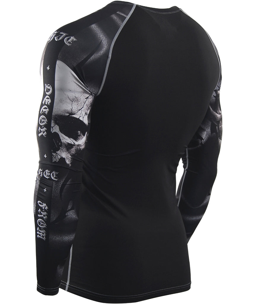 Skeleton Baselayer Compression Shirt