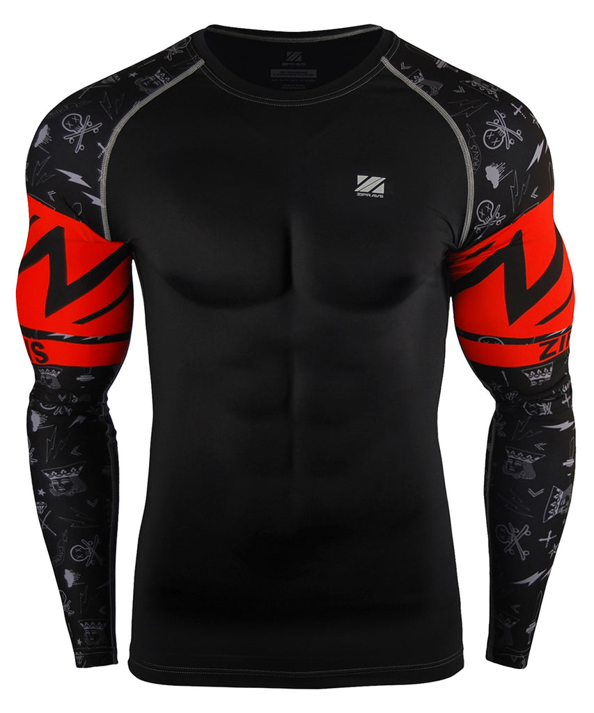 Red Band Design Compression Gear