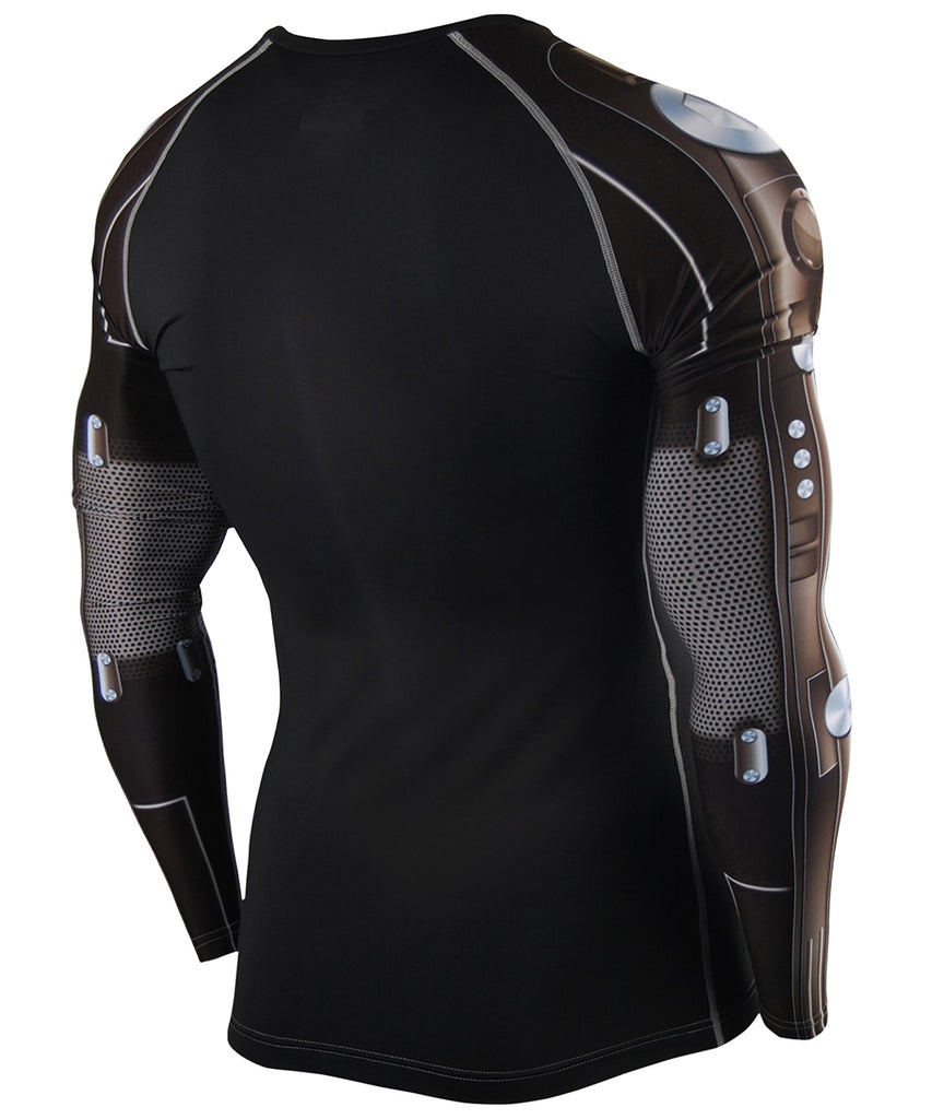 Gray&Black Hero Machine Compression Gear