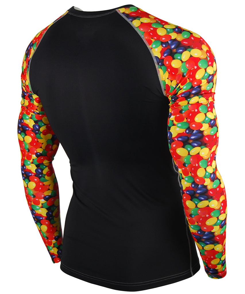 Candy Pop colourful Design Long Sleeves