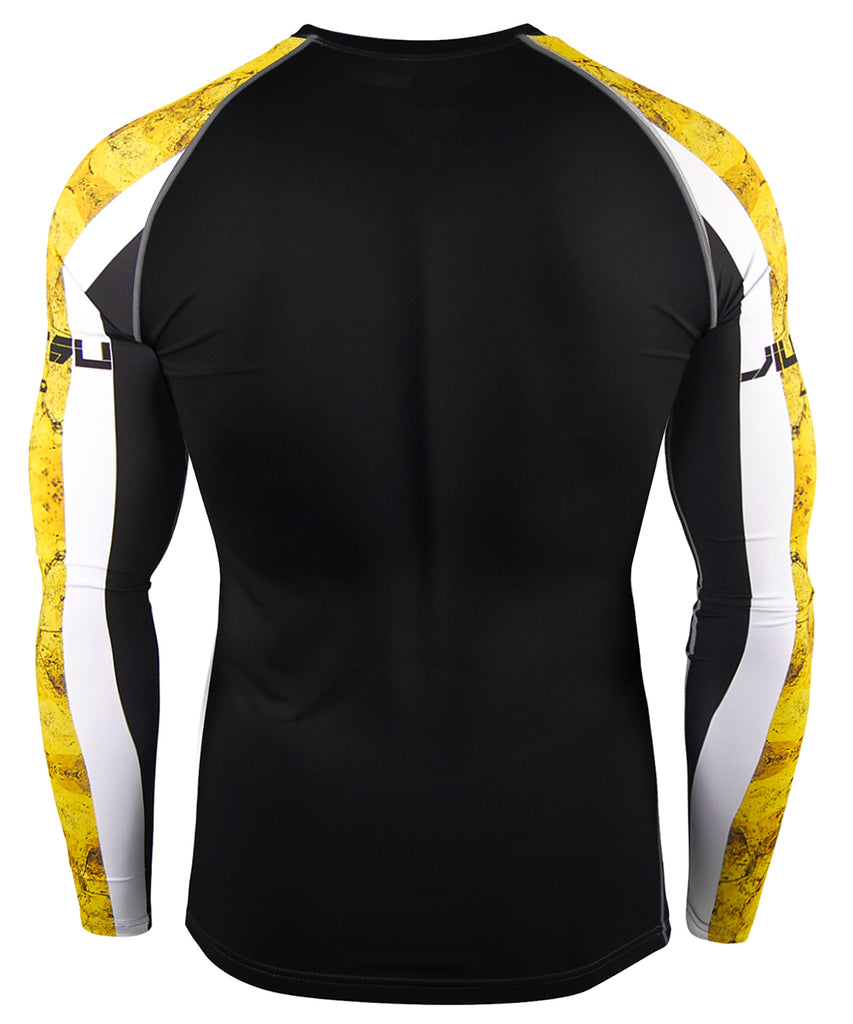 Yellow Athletic Compression Tee