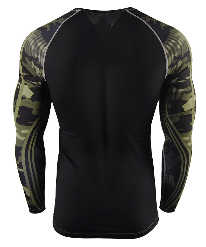 Green&Camo Pattern Design Compression wear