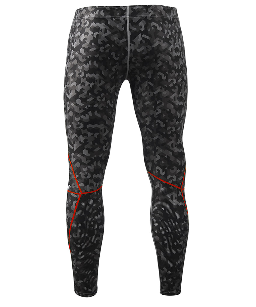 Camo Full Pattern Tights Pants