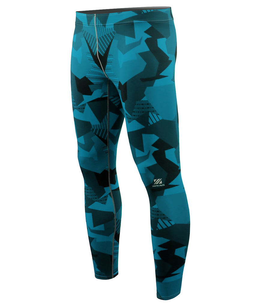 Blue Pieces Design Active Tight Pants