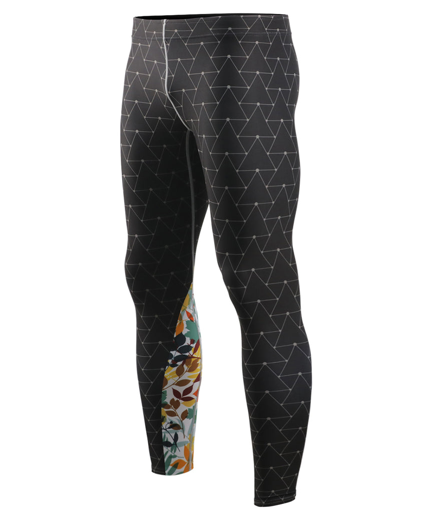 Triangle Full Pattern Tights