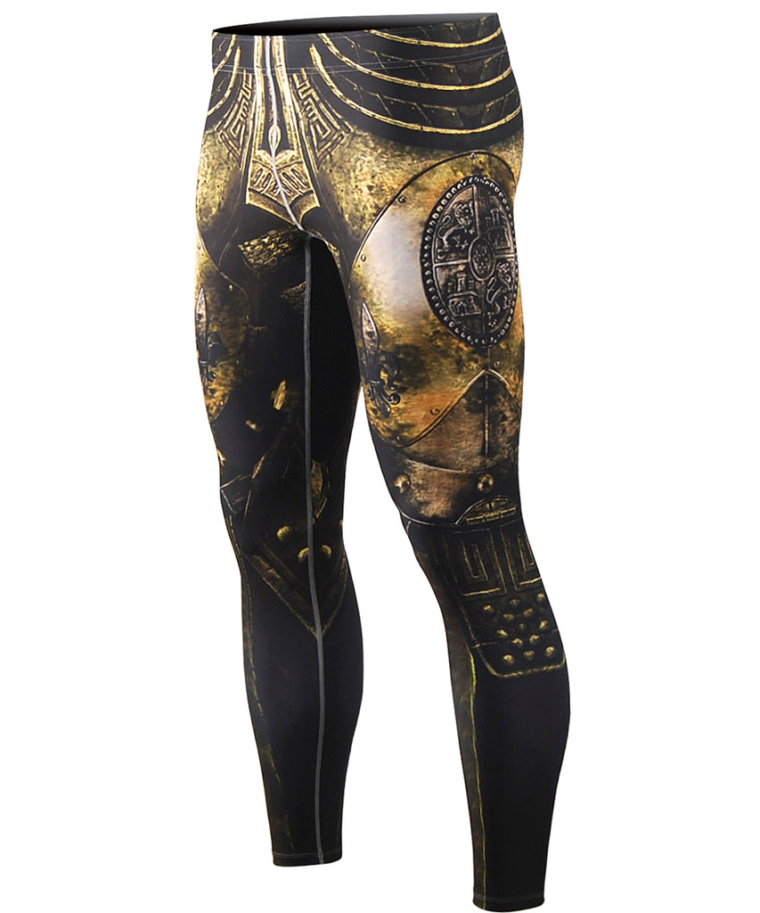 Knight Armor Pants Design Tights