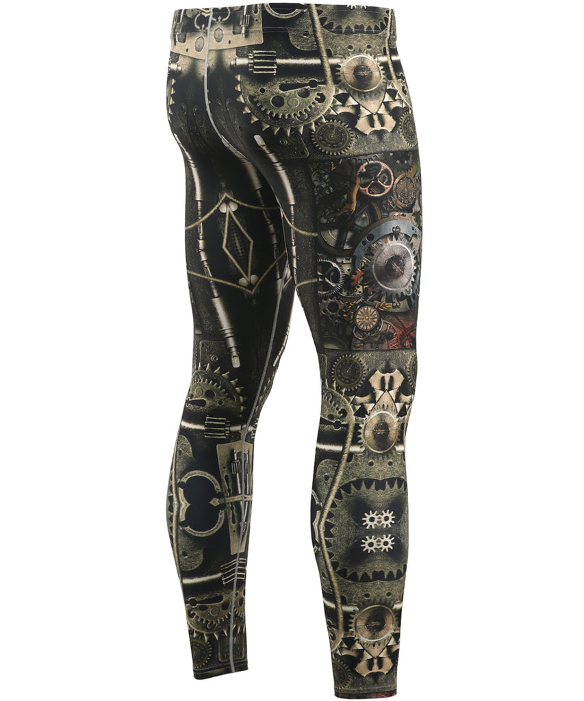 Machine Unique Design Tights