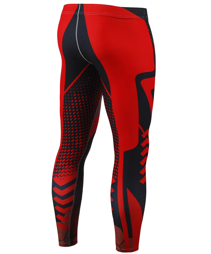 Compression Pants Look like Red Hero