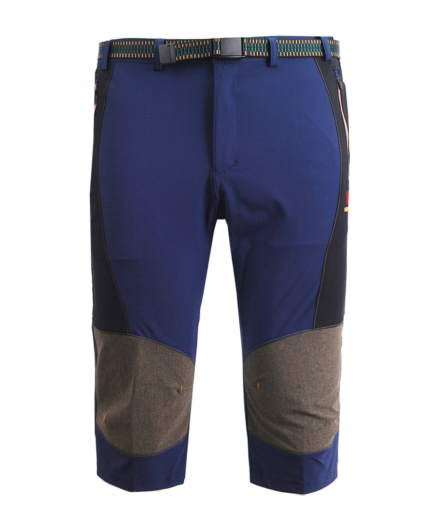 Blue hiking outdoor mountain capri pants