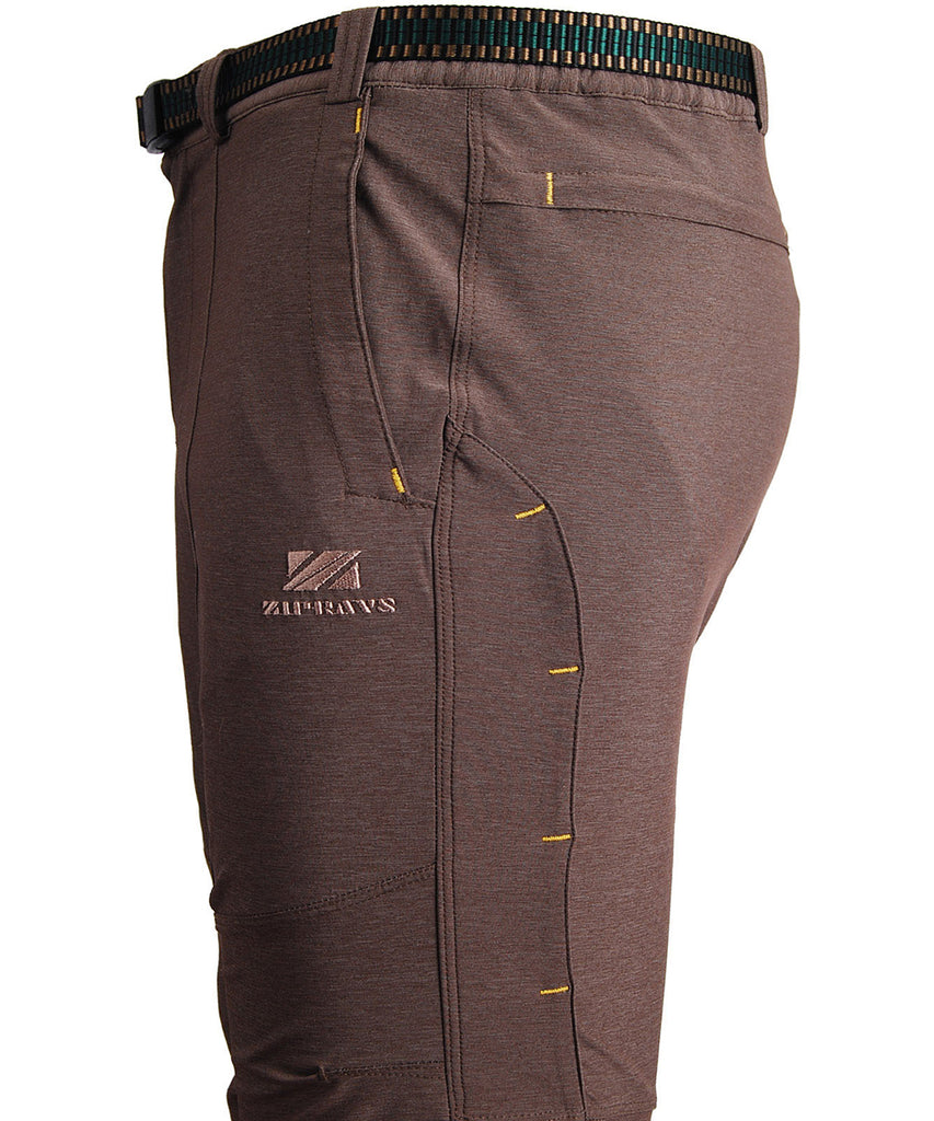detail view / mens hiking outdoor long pants