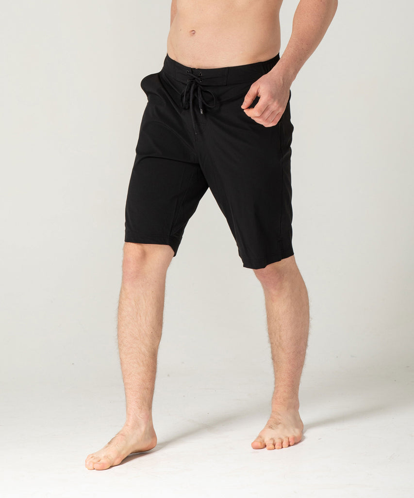 black short pants two deep side pockets